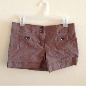 EUC New York and Co. brown shorts